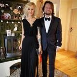 Richard Krajčo sdílí instagramový účet se svou ženou.