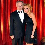 Steven Spielberg a jeho dcera