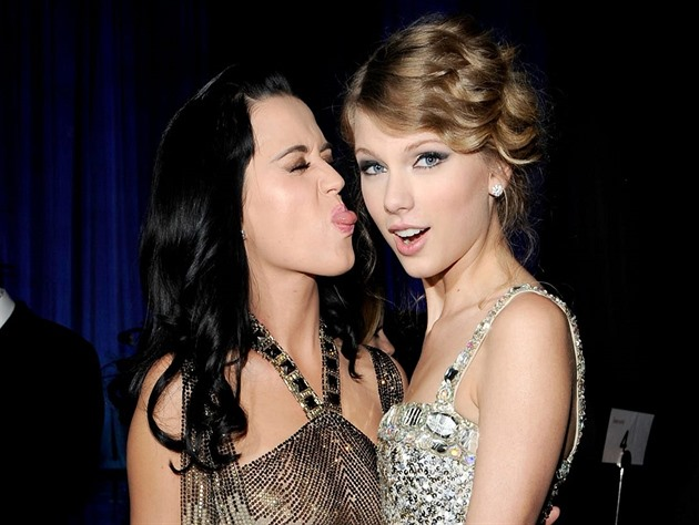 Taylor Swift a Katy Perry