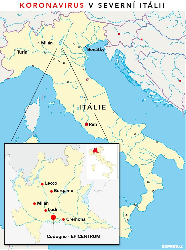 Cesi I Pres Varovani Ministerstva Chteji Do Italie Kam Tam
