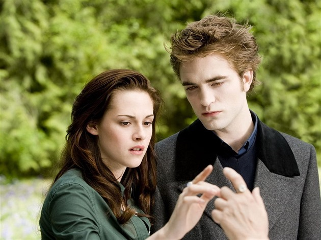 Robert Pattinson a Kristen Stewart