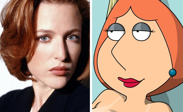 Gillian Anderson / Lois Griffin ve Family Guy