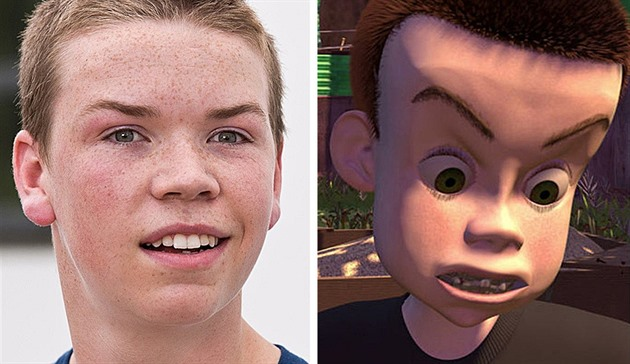 Will Poulter / Sid v Toy Story