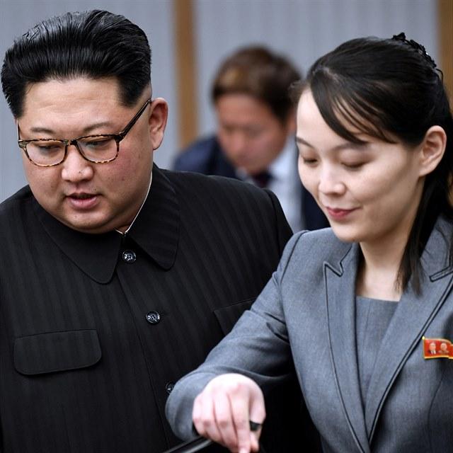 Mohla by diktátora Kima nahradit jeho sestra Kim Jo-čong?