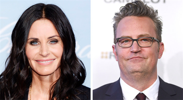 Courteney Cox and Matthew Perry, Friends