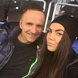 Dominika Krejčová se svým tatínkem