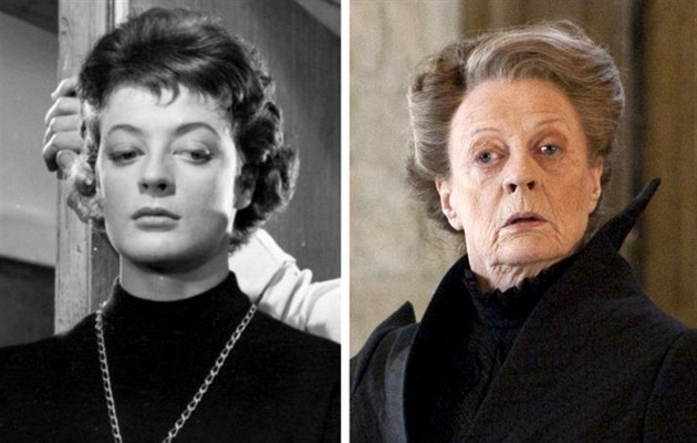 Maggie Smith 1958 a 2007