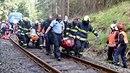 Na místě nehody pomáhalo i nespočet obyvatel z nedaleké obce.