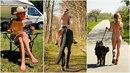 Slavná instagramová hanbářka A Naked Girl odstartovala letní sezonu!
