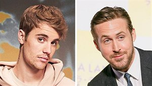 Justin Bieber and Ryan Gosling
