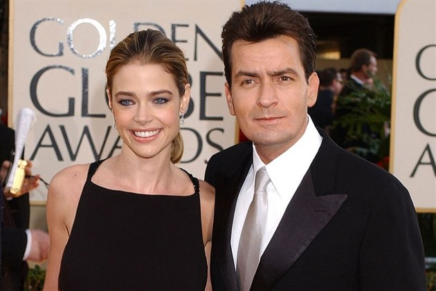 Charlie Sheen a Denise Richards