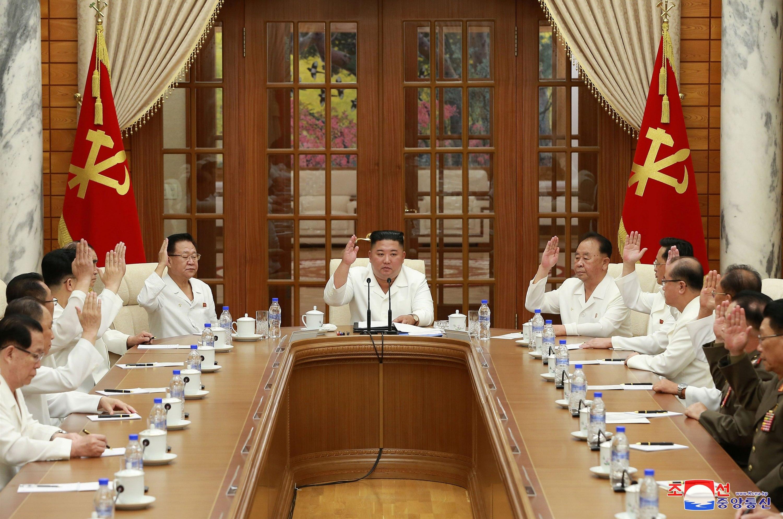 Zasedání politbyra Korejské strany práce