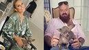 Karel Vágner s čivavou Angelou, kvůli které to Simona Krainová schytává od...
