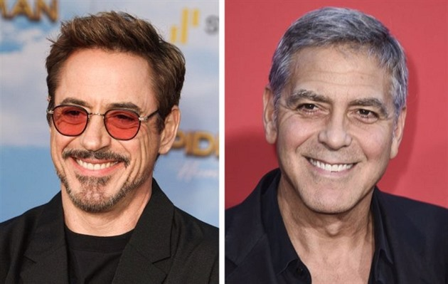 Robert Downey Jr. — George Clooney
