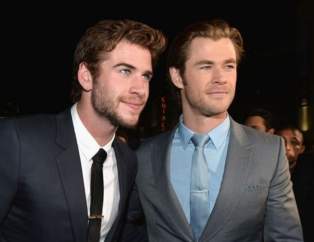 Liam Hemsworth a Chris Hemsworth