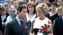Princ Charles s princeznou Dianou v Praze. Tady už bylo jejich manželství v...