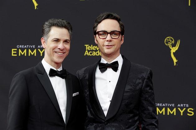 Jim Parsons a producent Todd Spiewak jsou partneři už téměř dvacet let, vzali...