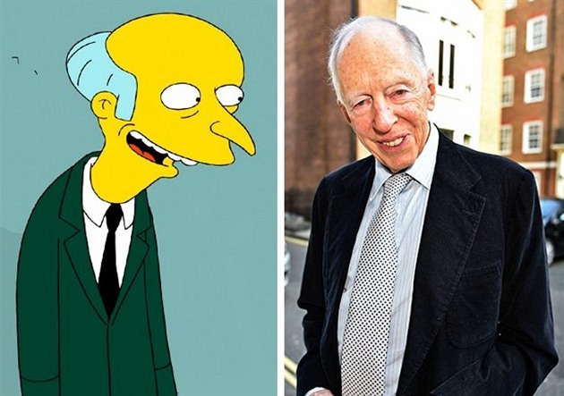 Montgomery Burns – Baron Jacob Rothschild