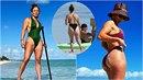 Jennifer Lopez dovádí na dovolené. Zdá se ale, že fotky důkladně retušuje.