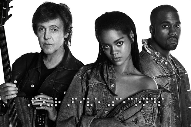 Rihanna & Kanye West & Paul McCartney