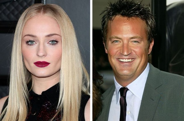 Sophie Turner a Matthew Perry