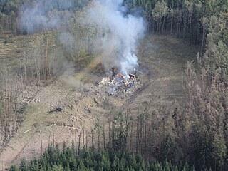 Výbuch ve Vrběticích