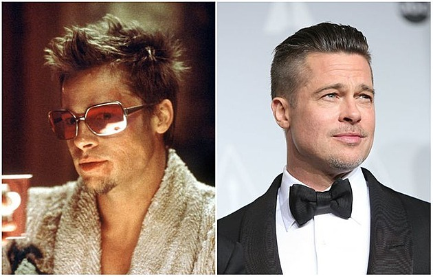 Tyler Durden, played by Brad Pitt