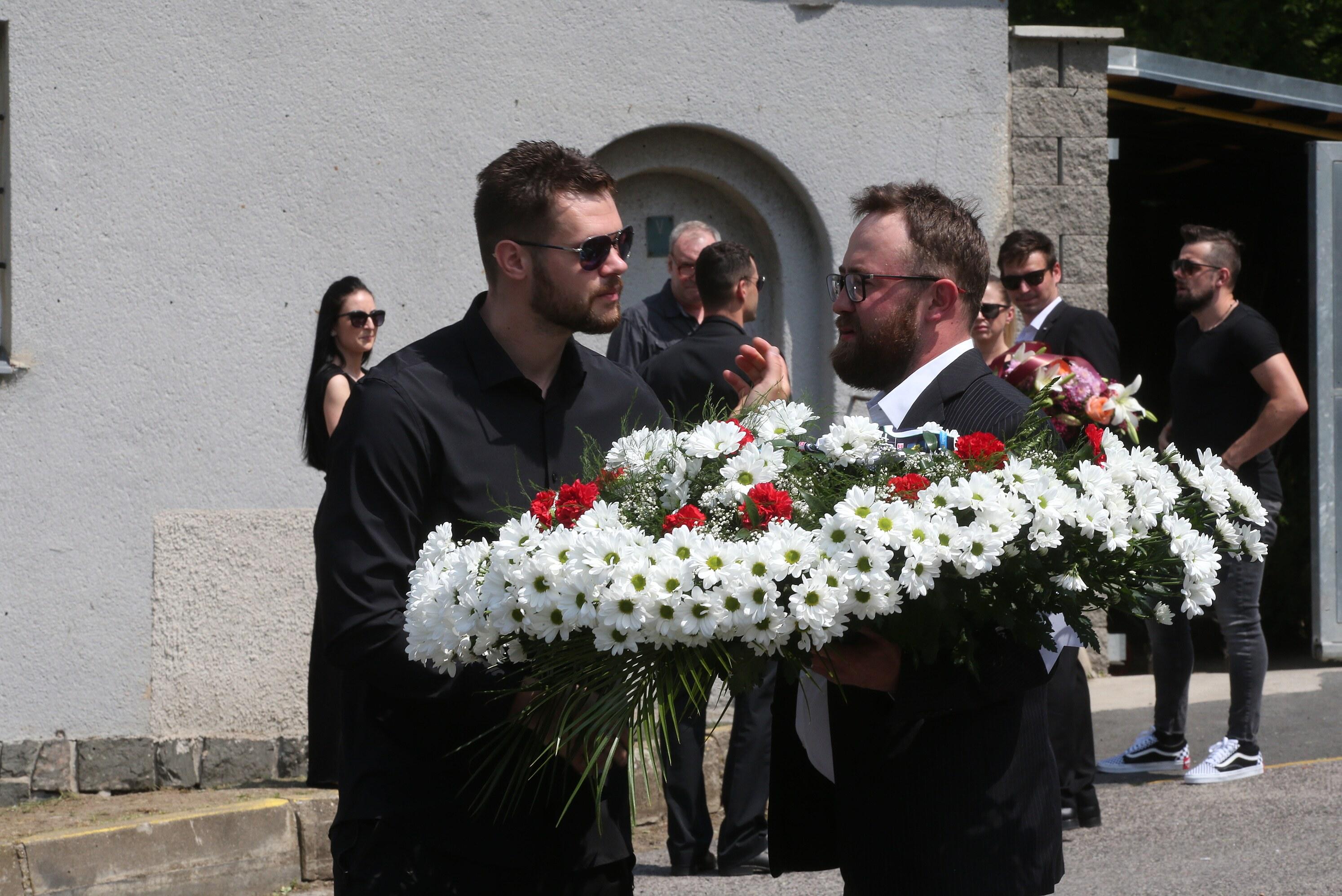 Pohřeb Marka Trončinského