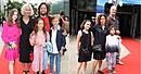 Slavné rodiny na premiéře filmu Gump.