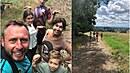 Jan Tuna a Nela Boudová vzali děti do přírody. Společně.