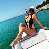 Brigita Chlopčíková ukázala u moře sexy figuru.