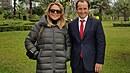 Dagmar Havlová je návštěvě Peru, kde inaugurovala lavičku Václava Havla a kam...