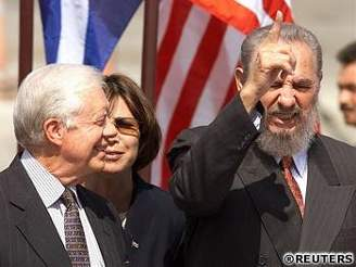 Jimmy Carter & Fidel Castro
