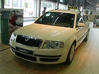 Škoda Superb Taxi