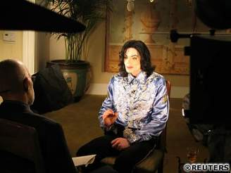 Jackson při interview na CBS News