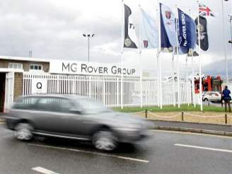 MG Rover, Longbridge
