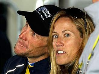 Lance Armstrong a Sheryl Crow