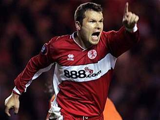 Middlesbrough - Steaua Bukurešť, Mark Viduka