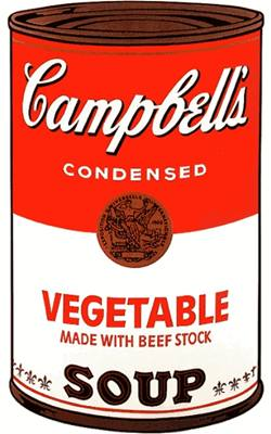 Andy Warhol - Vegetable Soup