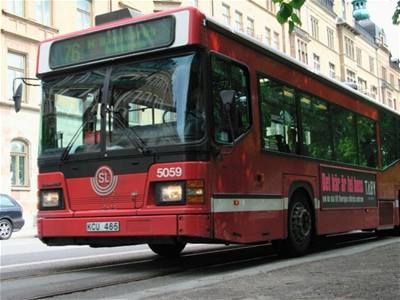 Stocholm bus