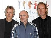 Kapela Genesis - (zleva) Tony Banks, Phil Collins a Mike Rutherford
