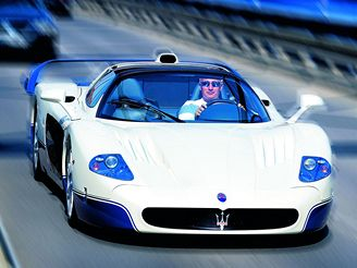 Richard Chlad a jeho Maserati MC12