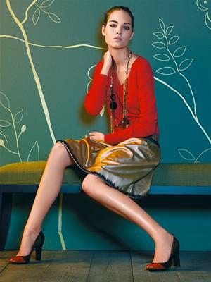 2ed6ecc7f301 Červená barva patří mezi módní stálice. Dalších 12 fotografií v galerii