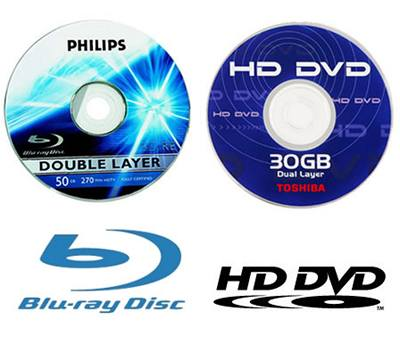 Blu-ray Disc a HD DVD