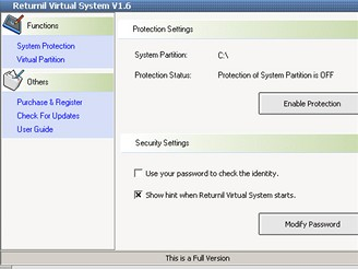 Returnil Virtual System