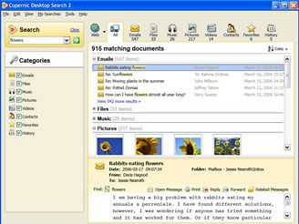 copernic Desktop Search 2