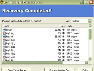 Free Art Plus Digital Photo Recovery