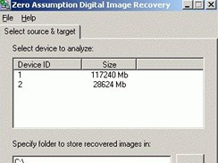 Zero Assumption Digital Image Recovery