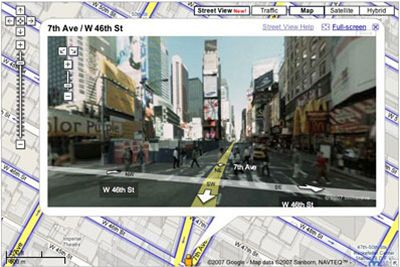 Google Maps - Street View