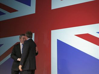 Gordon Brown a Tony Blair